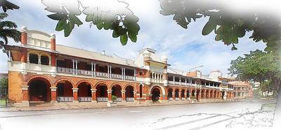 Queens Hotel, Townsville.