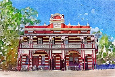 The Imperial Hotel, Ravenswood, North Queensland.