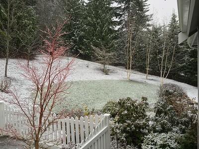 December 21st snowfall