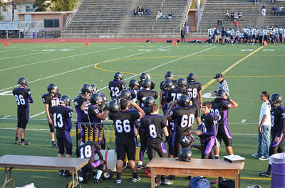 2012 Sequoia Frosh-Soph Football
