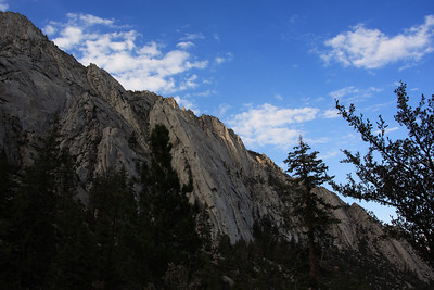 Whitney Portal late afternoon
