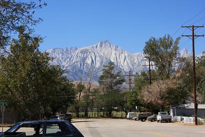 Lone Pine Peak from Lone Pine