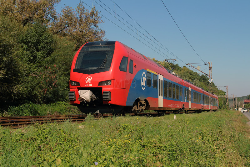 413 022 (94 72 0413 022-5 SRB-ZS) near Rakovica on 26th September 2016 (2)