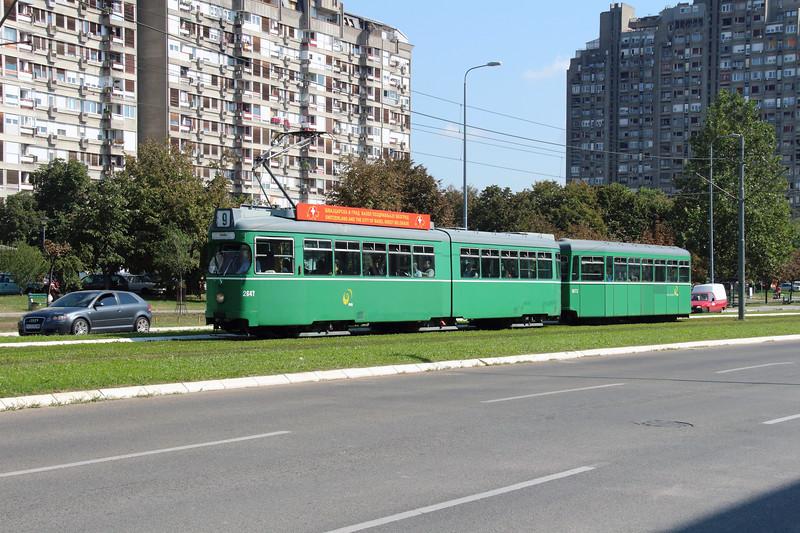 tram, 2647 at Novi Beograd on 26th September 2016 (2)