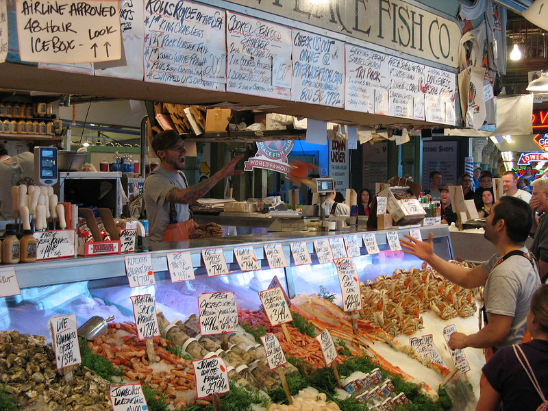 Flying Crab, Pike Place Market