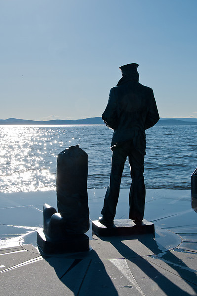 Burlington's Lone Sailor