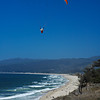 Hang-gliding on Half Moon Bay
