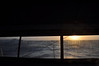 The sun goes down as we are drifting 32 miles off the Columbian coast in a moderate sea
