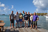 The happy group after 10 days getting to know each other and just before leaving Grenada