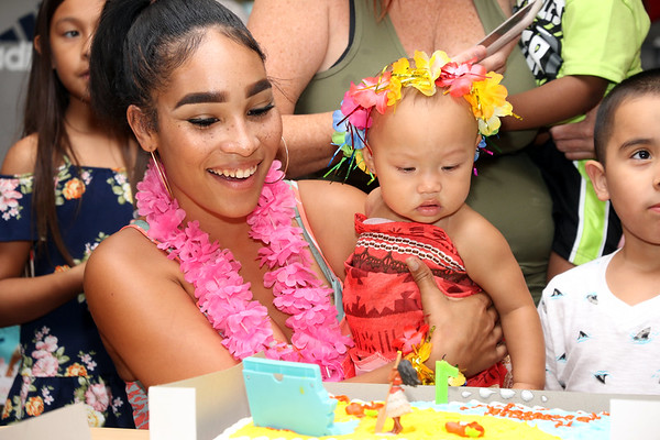 Serenity Rose's First  Birthday Party