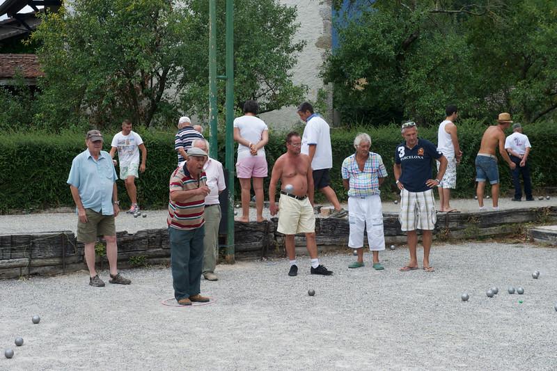Pétanque concours du Comité des Fêtes 2012