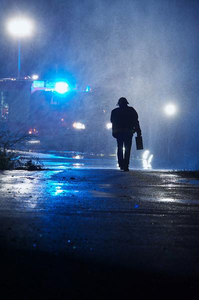Pompiers exercice avec Satigny 2013