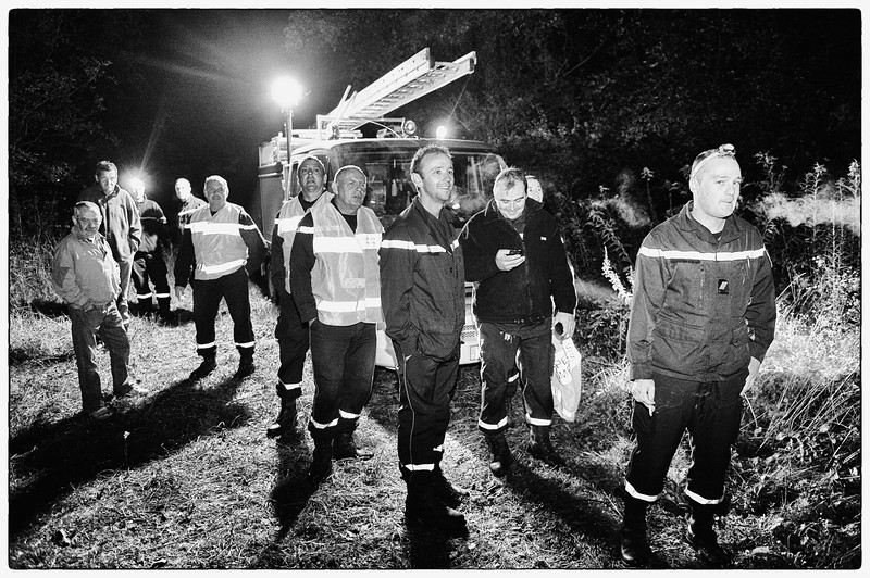 Pompiers exercice oct 2012