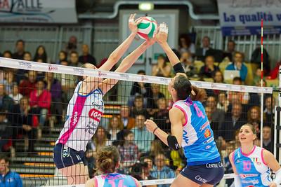 © Matteo Morotti #SerieA1 #PlayOffRosa #Semifinali #Gara1 #MGSVolleyCup #Piacenza 3 - #Novara 1