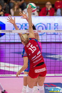 #iLoveVolley #VolleyAddicted #‎MGSVolleyCup  Nordmeccanica Piacenza 1 - Foppapedretti Bergamo 3 PlayOff Serie A1 Femminile 2015/2016 Gara 2 Semifinale Piacenza - 22 aprile 2016  Guarda la gallery completa su www.volleyaddicted.com (credit image: Morotti Matteo/www.VolleyAddicted.com)