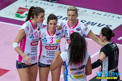 Club Italia Crai 1 - Igor Gorgonzola Novara 3 10^ Giornata Serie A1 Femminile 2016/2017 Busto Arsizio (VA) - 17 dicembre 2016