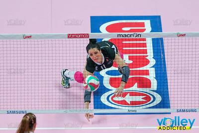 UYBA 3 - Igor Volley Novara 1 11^ Giornata di ritorno A1F 2016/17 Busto Arsizio - 25 marzo 2017