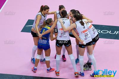 Club Italia Crai 1 - Liu Jo Nordmeccanica Modena 3 2^ Giornata Ritorno Serie A1 Femminile 2016/2017 Busto Arsizio (VA) - 22 gennaio 2017