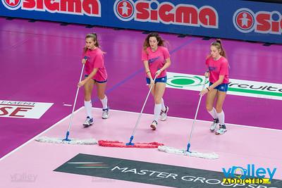 UYBA Vs Metalleghe Montichiari, Serie A1 Femminile 2016/2017 in Busto Arsizio, Italy