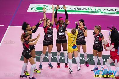Unet Yamamay Busto Arsizio 3 - Club Italia Crai 0 4^ Giornata Serie A1 Femminile 2016/2017 Busto Arsizio (VA) - 6 novembre 2016