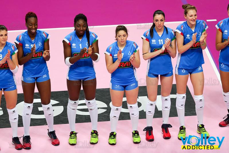 Club Italia Crai - UYBA  4^ Giornata di ritorno Serie A1 Femminile 2016/2017 Busto Arsizio (VA) - 4 febbraio 2017