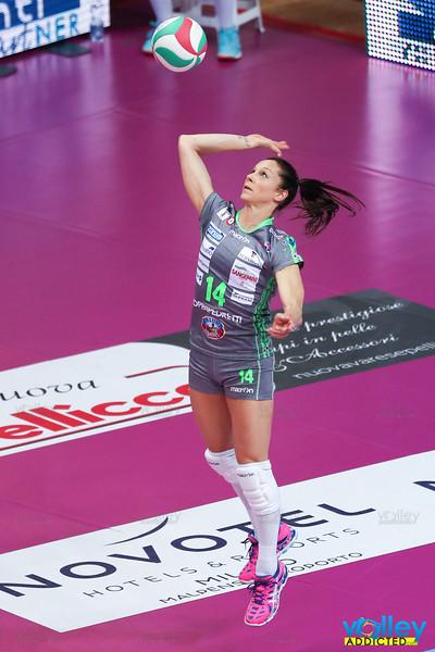 Unet Yamamay Busto Arsizio 3 - Foppapedretti Bergamo 0 5^ Giornata ritorno Serie A1 Femminile 2016/2017 Busto Arsizio (VA) - 11 febbraio 2017