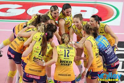 Igor Gorgonzola Novara 0 - Imoco Volley Conegliano 3 6^ Giornata di ritorno Serie A1 Femminile 2016/2017 Novara - 15 febbraio 2017