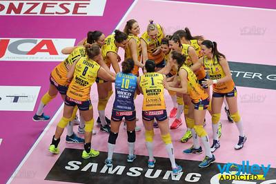 Club Italia Crai 0 - Imoco Volley Conegliano 3 7^ Giornata di ritorno Serie A1 Femminile 2016/2017 Busto Arsizio (VA) - 19 febbraio 2017