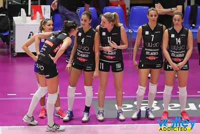 Pomì Casalmaggiore 1 - Liu Jo Nordmeccanica Modena 3 8^ Giornata di ritorno Serie A1 Femminile 2016/2017