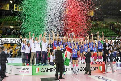 Pomì Casalmaggiore - Unet Yamamay Busto Arsizio Gara 2 - Quarti di Finale Serie A1F 2016/2017 Pala Radi, Cremona (CR) - 19 aprile 2017