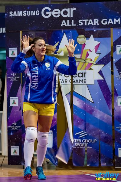 #iLoveVolley #VolleyAddicted #AllStarGame  Blu Stars 2 - White Stars 1 Samsung Gear All Star Game 2016 PalaCattani - Faenza (RA) - 8 ottobre 2016  Guarda la gallery completa su www.volleyaddicted.com (credit image: Morotti Matteo/www.VolleyAddicted.com)