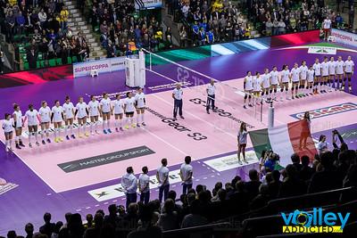 Imoco Volley Conegliano 3 - Foppapedretti Bergamo 1 Supercoppa Samsung Gear S3 Treviso (TV) - 8 dicembre 2016