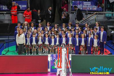 IMOCO VOLLEY CONEGLIANO 1 - IGOR GORGONZOLA NOVARA 3 Finale Samsung Galaxy A Coppa Italia Serie A1F 2017/18 PalaDozza - Bologna - 18 febbraio 2018