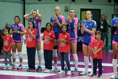 Saugella Team Monza 3 - Club Italia CRAI 0 1^ Giornata Samsung Volley Cup Serie A1F 2018/2019 Candy Arena, Monza (MB) - 28 ottobre 2018