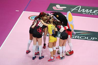 UNET E-WORK BUSTO ARSIZIO 3 - CLUB ITALIA CRAI 0 7^ Giornata Ritorno Samsung Volley Cup Serie A1F 2018/19 Busto Arsizio (VA) - 17 febbraio 2019