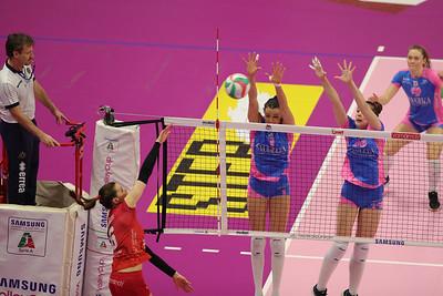 UNET E-WORK BUSTO ARSIZIO 3 - SAUGELLA MONZA 2 Gara 1 Quarti di Finale PlayOff Scudetto Samsung Volley Cup Serie A1F 2018/19 Busto Arsizio (VA) - 7 aprile 2019