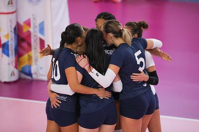 UNET E-WORK BUSTO ARSIZIO 1 - ZANETTI BERGMO 3 1^ Giornata Ritorno Samsung Volley Cup Serie A1F 2018/19 Busto Arsizio (VA) - 6 gennaio 2019