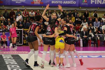 IMOCO VOLLEY CONEGLIANO 3 - UNET E-WORK BUSTO ARSIZIO 0 Finale Coppa Italia A1f PalaYamamay, Busto Arsizio (VA) - 2 febbraio 2020