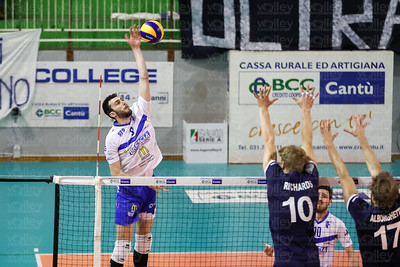 Pool Libertas Cantù - Centrale del Latte Mc Donald's Brescia Gara 4 PlayOut Serie A2 UnipolSai 2016/2017 Cantù (CO) - 26 aprile 2017