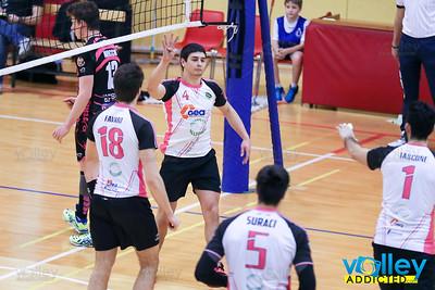 Yaka Volley Malnate 1 - Diavoli Rosa 3 Serie B Maschile 2016/2017 Malnate (VA) - 21 gennaio 2017