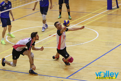 Yaka Volley 3 - Pallavolo Novi Ligure 2 Serie B Maschile 2017/2018 - Prima Giornata Malnate (VA) - 14 ottobre 2017