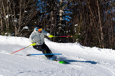 Mont-Tremblant, QC - March 9 -  100% Course SL Training at Tremblant, (Photo par: Gary Yee)