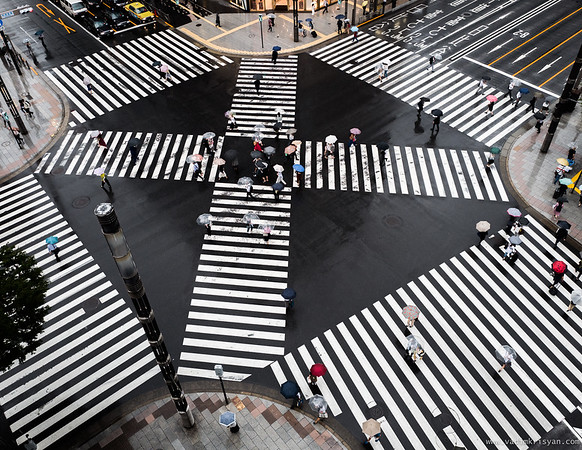 Ginza Crossing, Tokyo