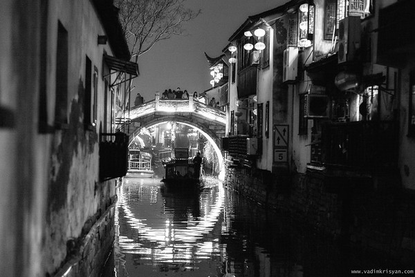 Old Suzhou, Shantag street and Canal, Suzhou