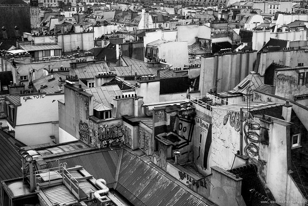 Roofs, Paris,2014