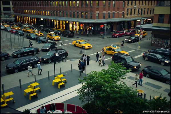 Yellow Line, New York,2012