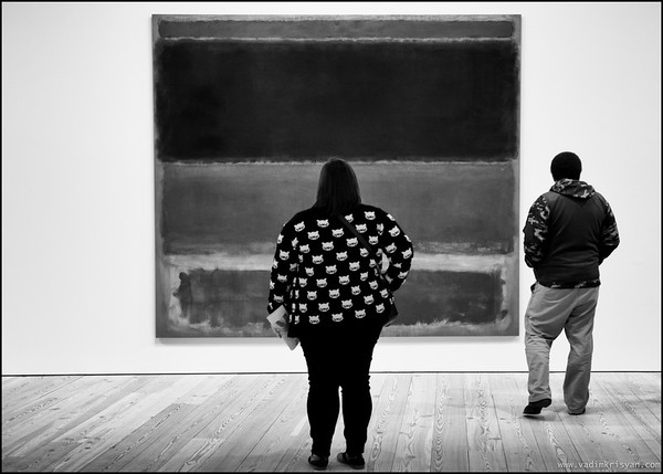 Rothko at the Whitney Museum, New York, 2015