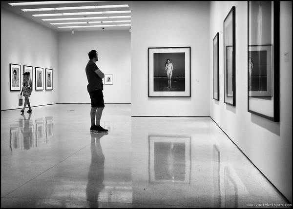 At the Guggenheim, New York, 2012