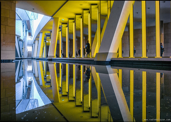 Fondation Louis Vuitton, Olafur Eliasson Installation, Paris, 2016