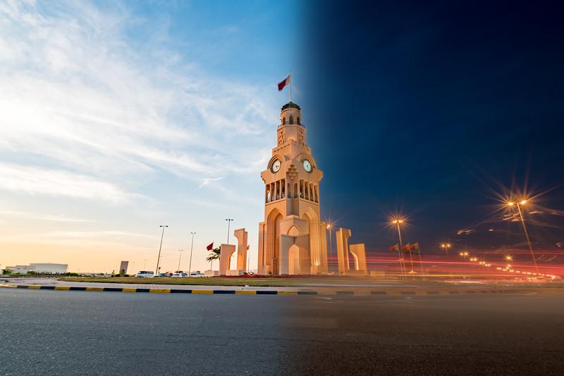 Riffa Clock Roundabout